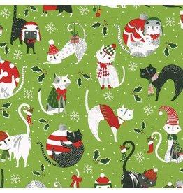 Yule Cats Roll Wrap