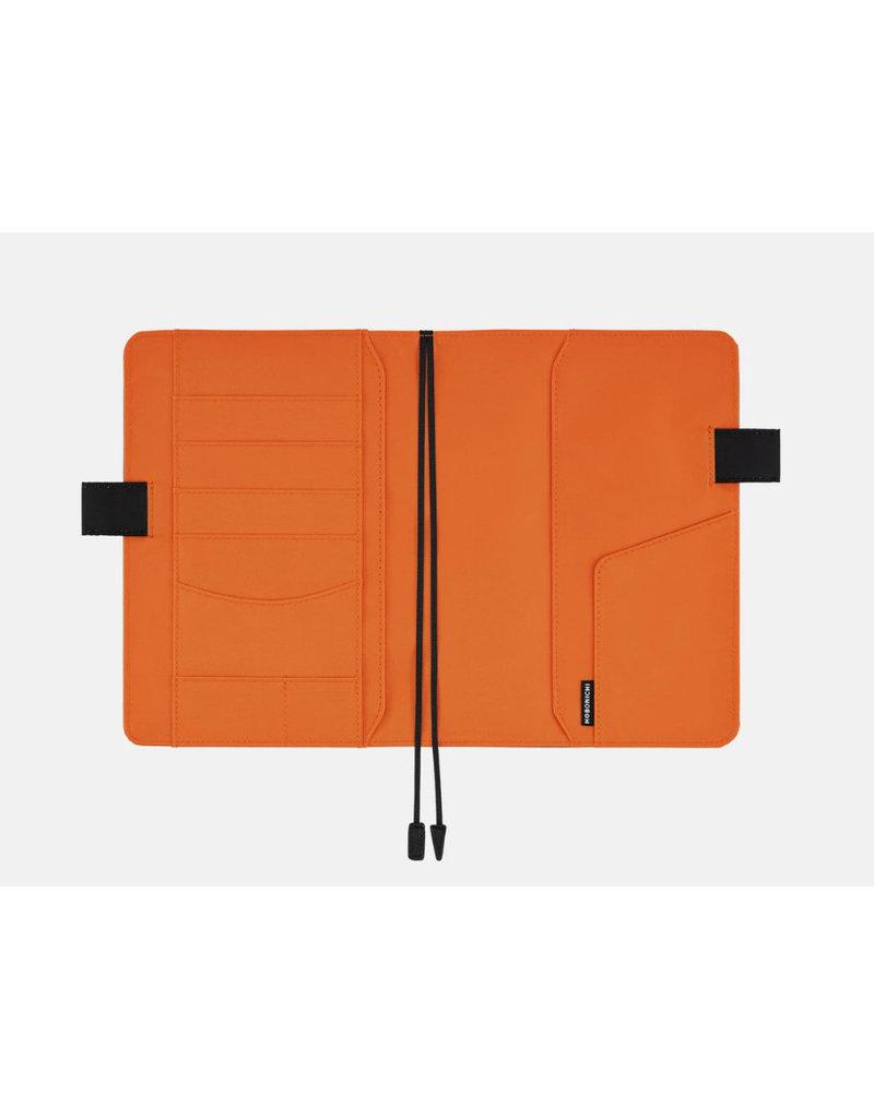 Hobonichi A6 Black x Orange Hobonichi Techo 2020