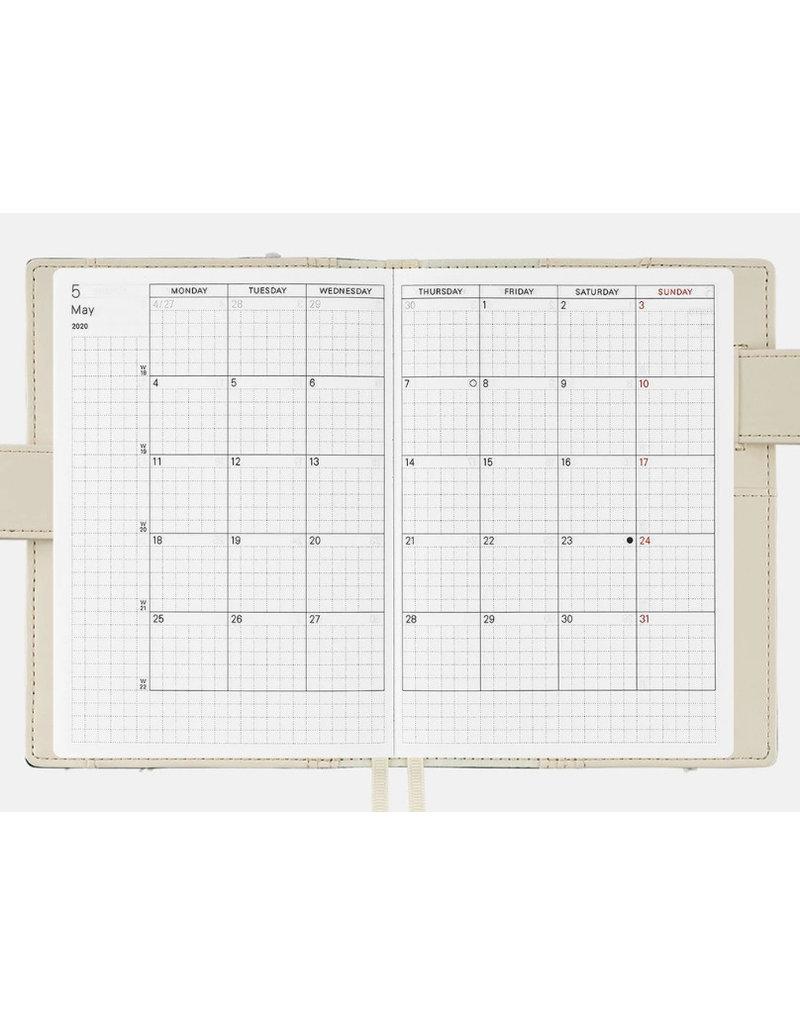 Hobonichi A6 Desk Garden Makino Collection Hobonichi Techo 2020