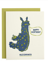 Hat + Wig + Glove Happy Birthday Nudibranch Supreme Card