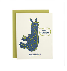 HWG Happy Birthday Nudibranch Supreme Card