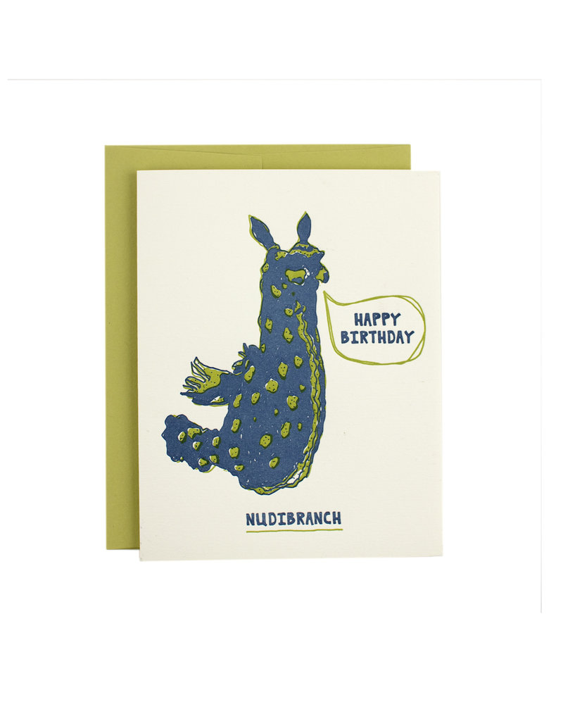 HWG Happy Birthday Nudibranch Supreme Card