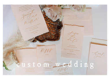 Custom Wedding and Special Occasion