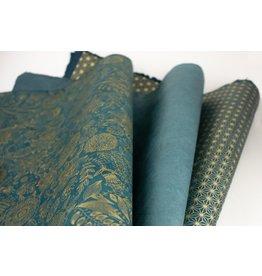 Turquoise Flat Wrap Trio