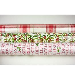 Holly Holiday Roll Wrap Trio