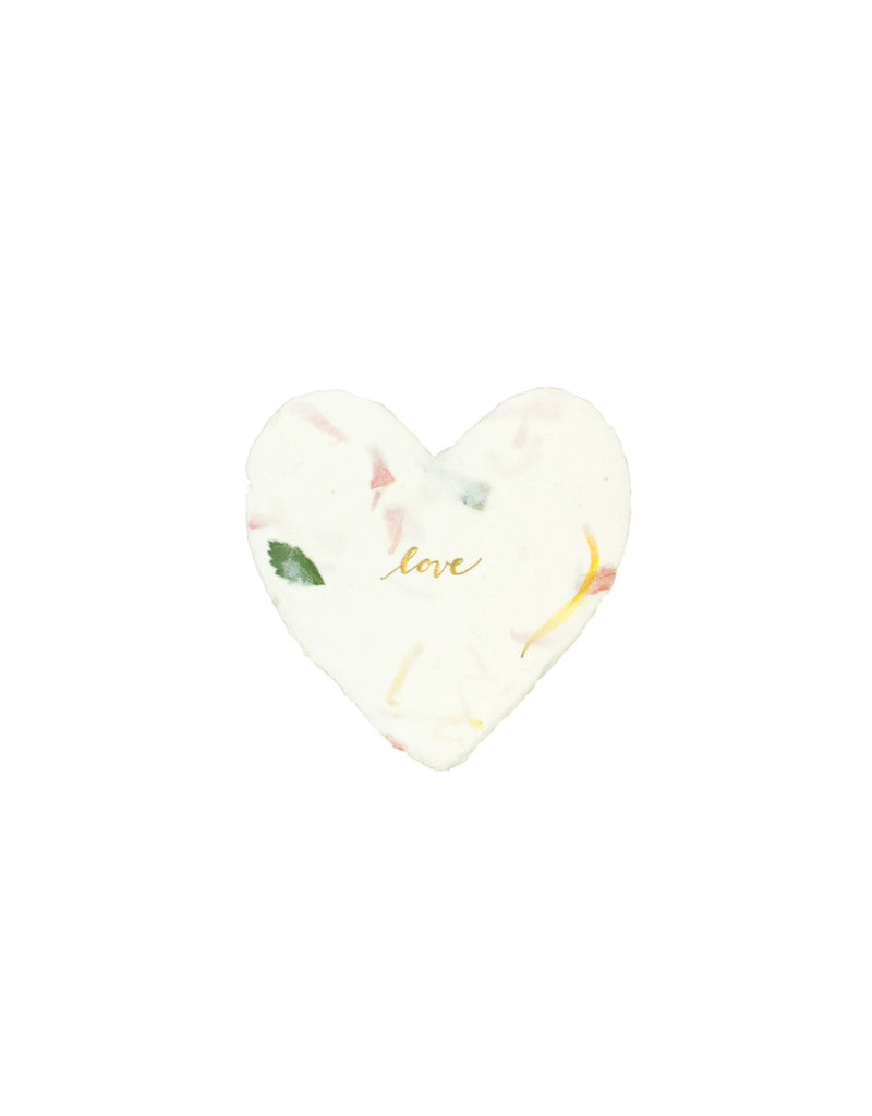 Oblation Papers & Press Love Foiled Heart