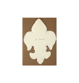 Oblation Papers & Press Deckled Note Je T'aime