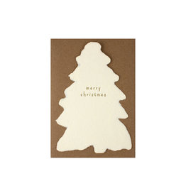 Oblation Papers & Press Merry Christmas Deckled Note
