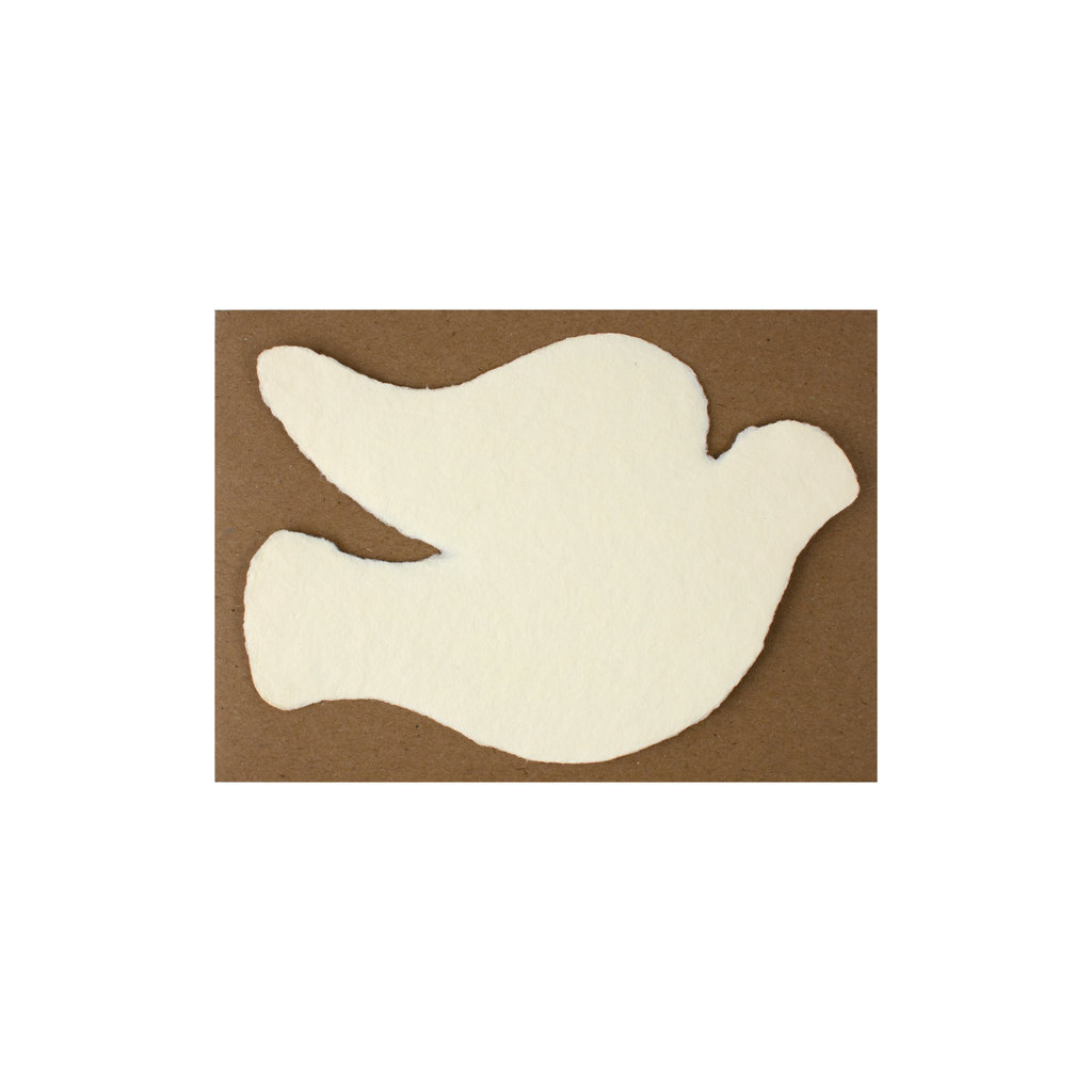 Oblation Papers & Press Handmade Paper Cream Dove