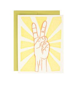 Peace Sign Supreme Card