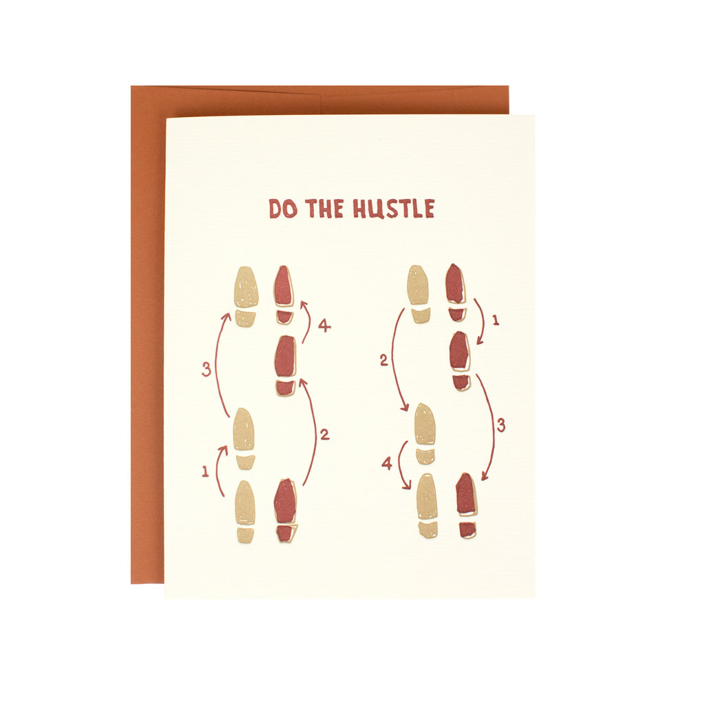 Hat + Wig + Glove Do the hustle Supreme Card