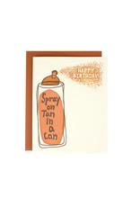Spray Tan Birthday Supreme Card