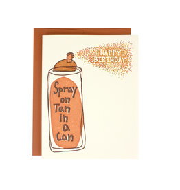 Spray Tan Birthday Supreme Card