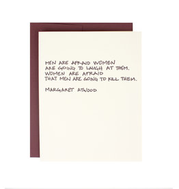 Margaret Atwood Quote Supreme Card