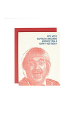 Hat + Wig + Glove Captain Kangaroo Birthday Supreme Card