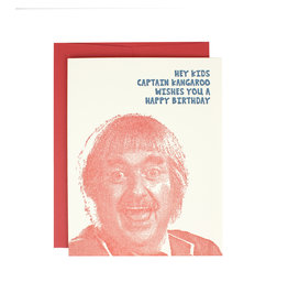 HWG Captain Kangaroo Birthday Supreme Card