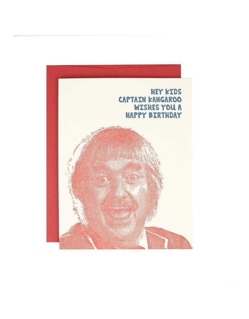 HWG Captain Kangaroo Birthday Supreme Card