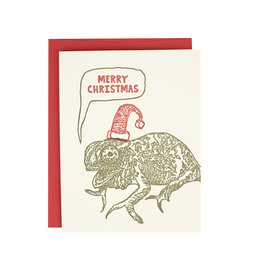Chameleon Christmas Supreme Card