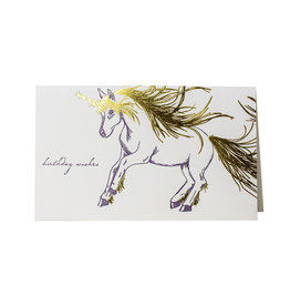 Oblation Papers & Press Birthday Wishes Unicorn Menagerie