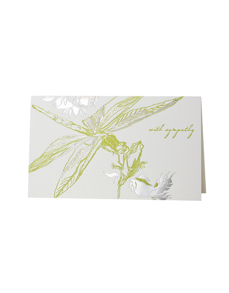 Oblation Papers & Press With Sympathy Menagerie Dragonfly