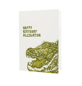 HWG happy birthday alligator