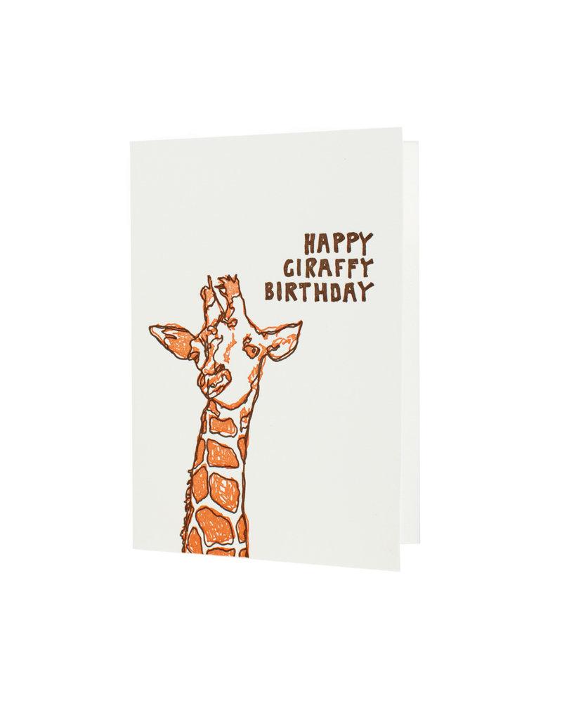 HWG happy giraffy birthday