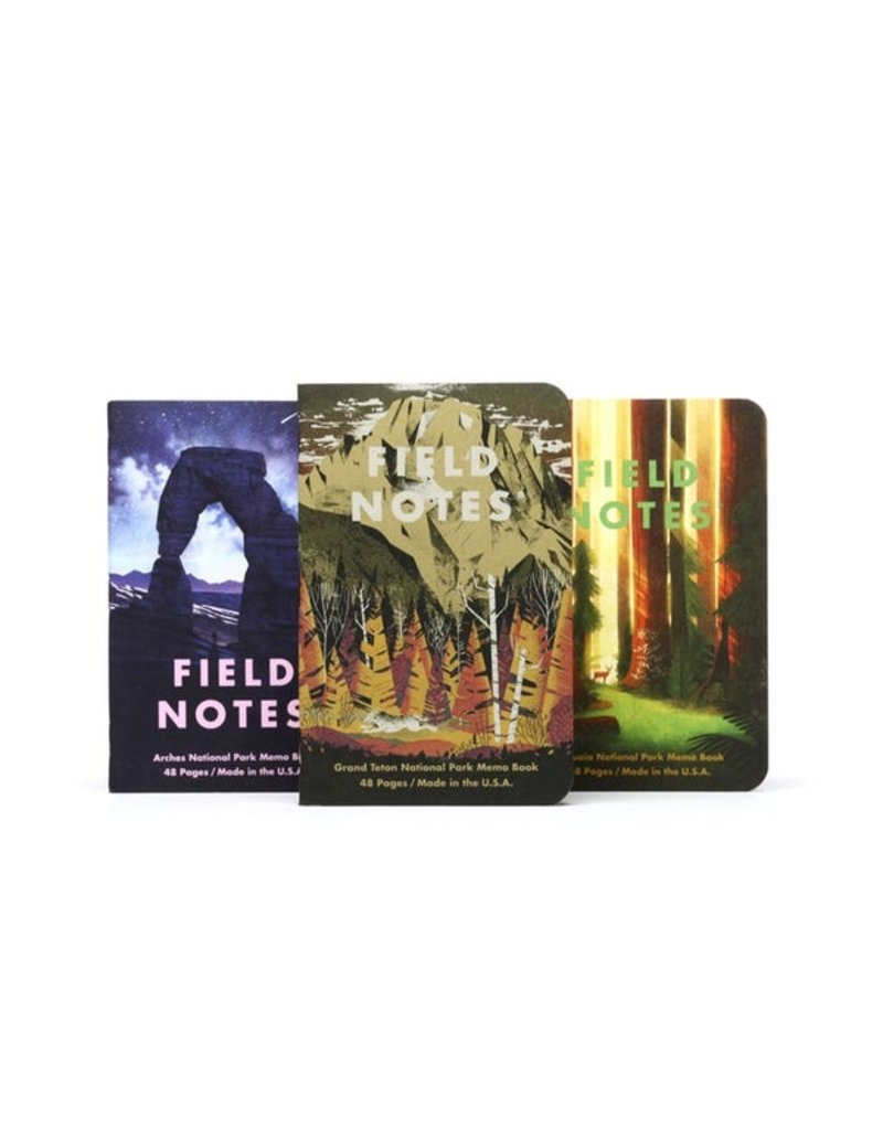 Field Notes Field Notes National Parks Series D 3-Pack