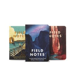 Field Notes National Parks Series A 3-Pack