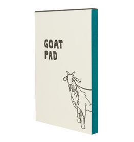 Hat + Wig + Glove Goat Pad Notepad