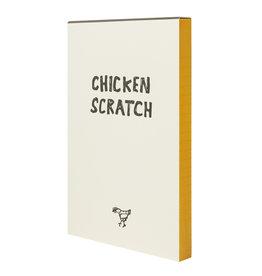 Hat + Wig + Glove Chicken Scratch Notepad