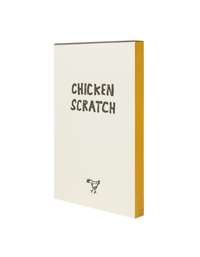 HWG Chicken Scratch Notepad