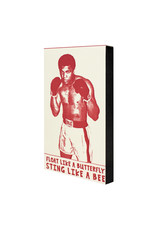 Hat + Wig + Glove Float Like a Butterfly Sting Like a Bee Muhammad Ali Notepad