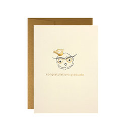 Oblation Papers & Press Congratulations Graduate Adorable Animal Card