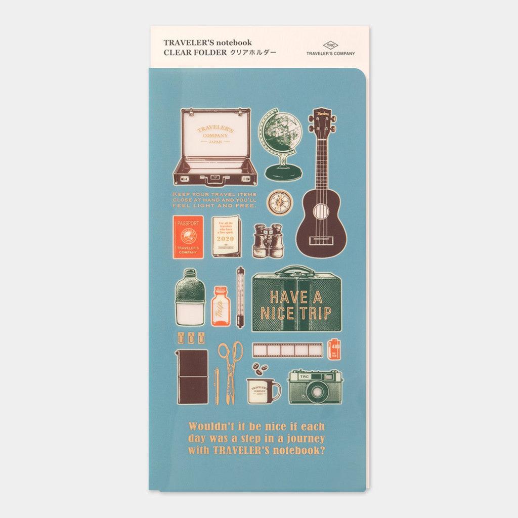 Traveler's Company Clear Folder 2020 Standard