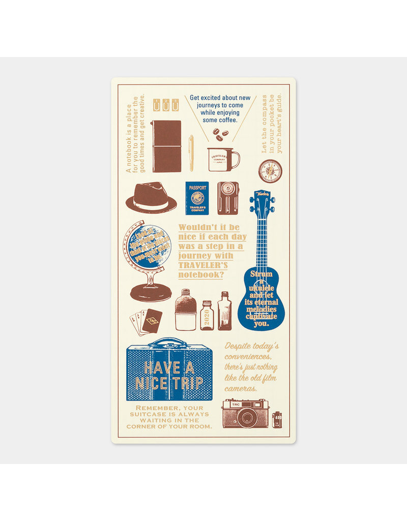 Traveler's Company Plastic Sheet 2020 Standard