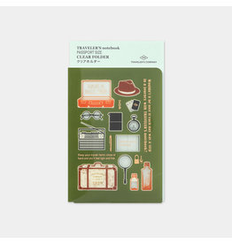 Traveler's Company Clear Folder 2020 Passport