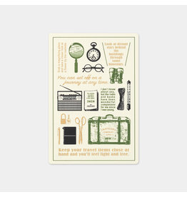 Traveler's Company Plastic Sheet 2020 Passport