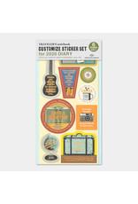 Traveler's Company Customized Sticker Set 2020
