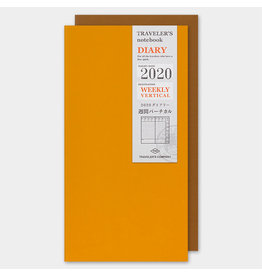 Traveler's Company Refill 2020 Weekly Vertical