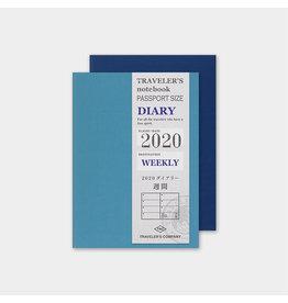 Traveler's Company Refill 2020 Weekly Passport