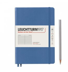 Leuchtturm A5 Denim Hardcover Notebook Ruled