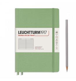 Leuchtturm A5 Sage Hardcover Notebook Ruled