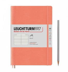 Leuchtturm A5 Bellini Softcover Notebook Ruled