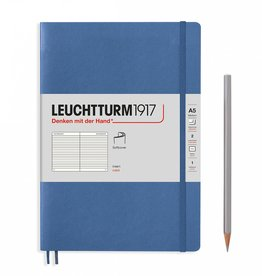 Leuchtturm A5 Denim Softcover Notebook Ruled