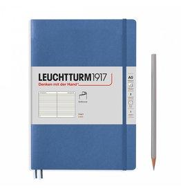 Leuchtturm A5 Medium Soft Cover Ruled Denim