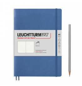 Leuchtturm A5 Denim Softcover Notebook Dotted