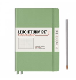Leuchtturm A5 Sage Hardcover Notebook Dotted