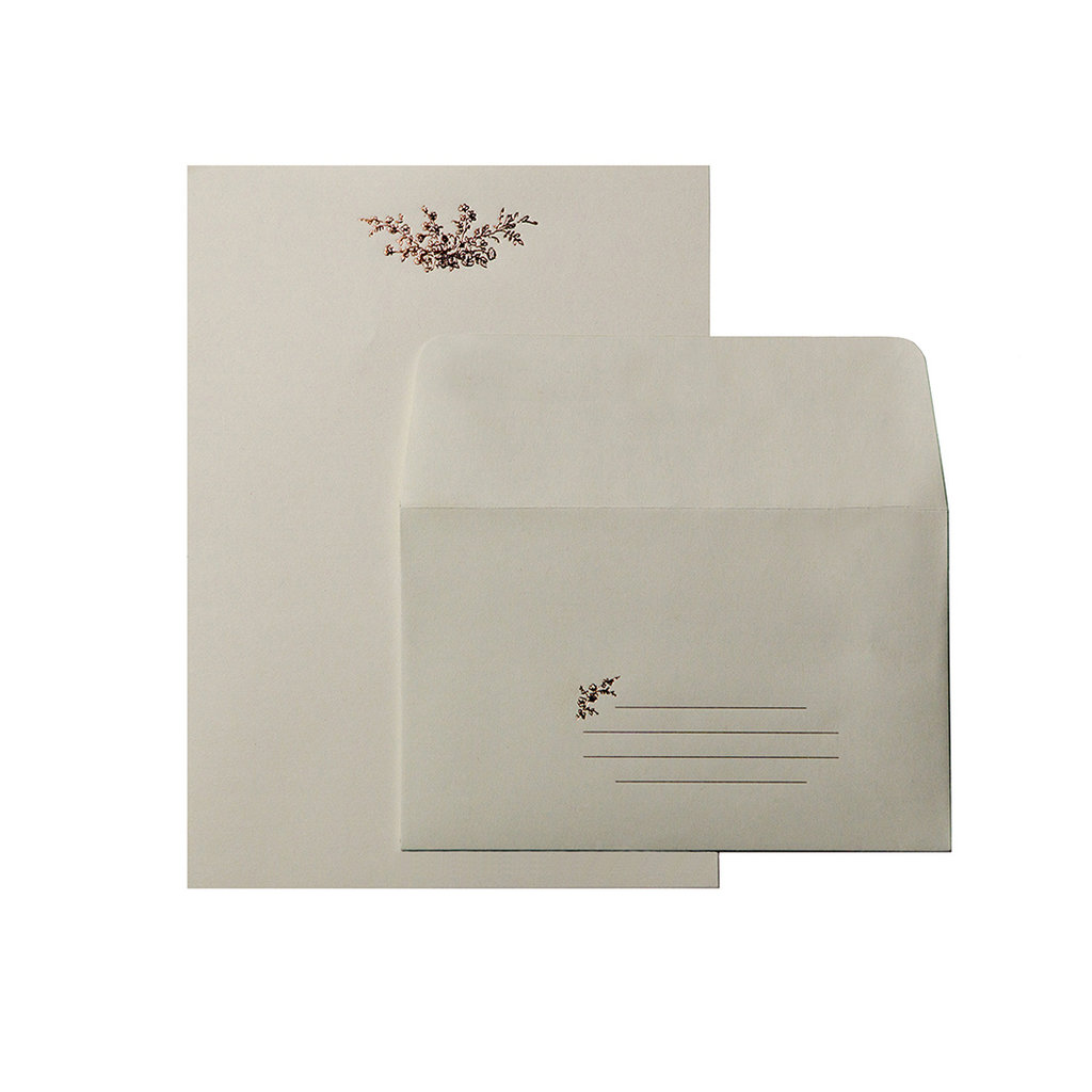 Oblation Papers & Press Rose Bouquet Letter Set