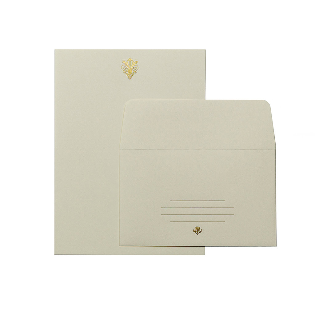 Oblation Papers & Press Fleur De Lis Letter Set