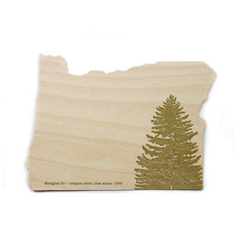 Oblation Papers & Press Die-Cut Birch Veneer Oregon Fir Tree